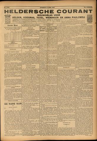 Heldersche Courant 1923-04-21