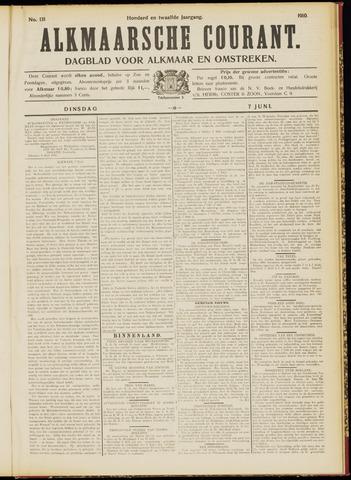 Alkmaarsche Courant 1910-06-07