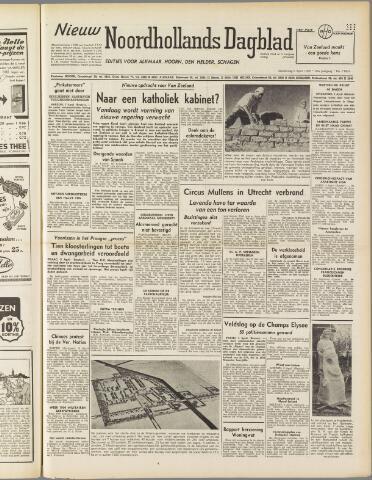 Nieuw Noordhollandsch Dagblad : voor Alkmaar en omgeving 1950-04-06