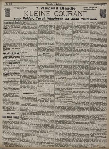 Vliegend blaadje : nieuws- en advertentiebode voor Den Helder 1909-07-14