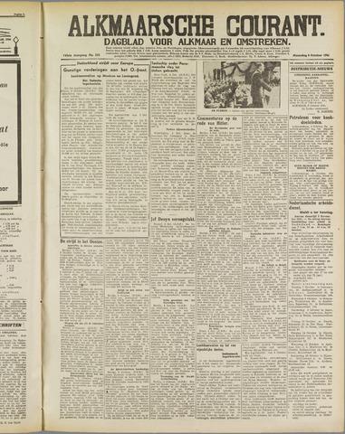 Alkmaarsche Courant 1941-10-06