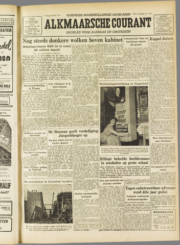 Alkmaarsche Courant 1955-05-13