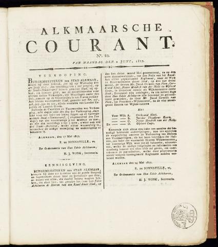 Alkmaarsche Courant 1817-06-02