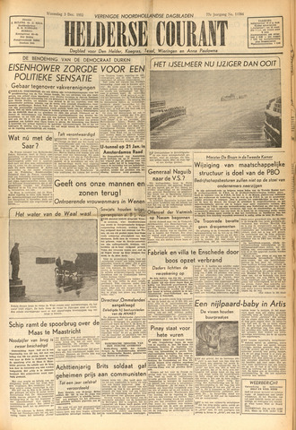 Heldersche Courant 1952-12-03