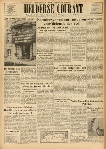 Heldersche Courant 1954-01-22