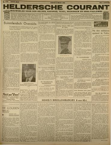 Heldersche Courant 1936-03-03