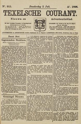 Texelsche Courant 1896-07-02