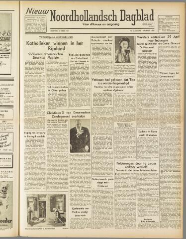 Nieuw Noordhollandsch Dagblad : voor Alkmaar en omgeving 1947-04-21