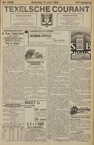 Texelsche Courant 1931-06-13