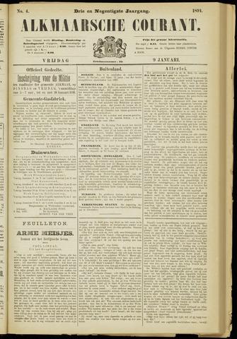 Alkmaarsche Courant 1891-01-09