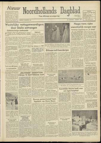 Nieuw Noordhollandsch Dagblad : voor Alkmaar en omgeving 1948-08-03