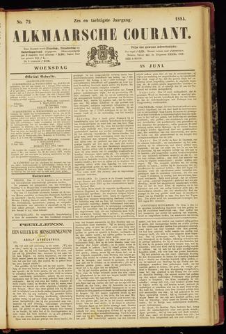 Alkmaarsche Courant 1884-06-18