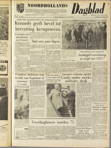 Noordhollands Dagblad : dagblad voor Alkmaar en omgeving 1962-04-25