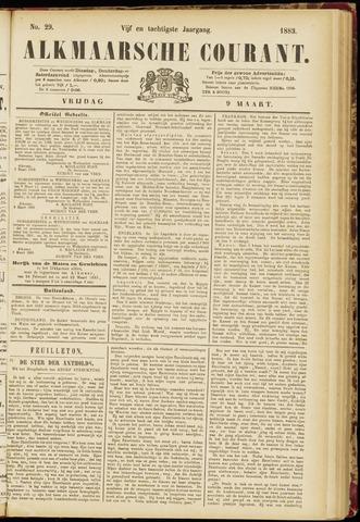 Alkmaarsche Courant 1883-03-09