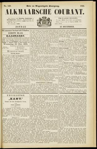 Alkmaarsche Courant 1891-12-13