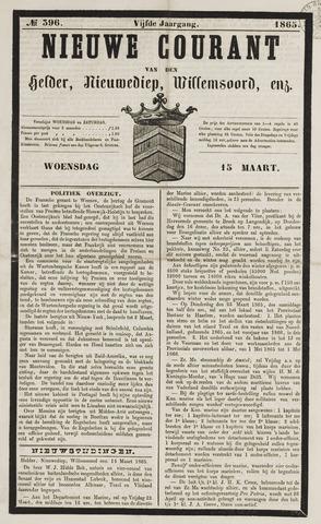 Nieuwe Courant van Den Helder 1865-03-15