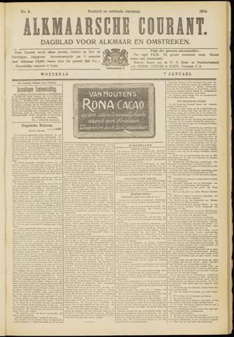Alkmaarsche Courant 1914-01-07