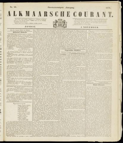Alkmaarsche Courant 1872-11-03
