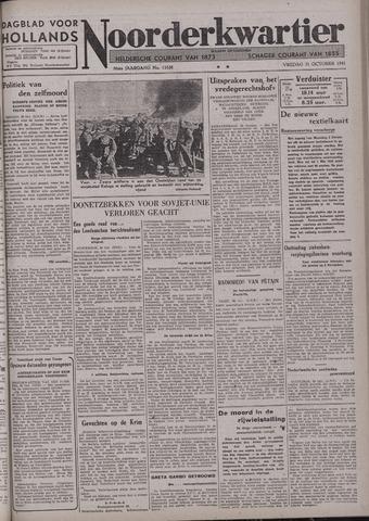 Dagblad voor Hollands Noorderkwartier 1941-10-31