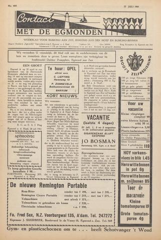 Contact met de Egmonden 1961-07-27
