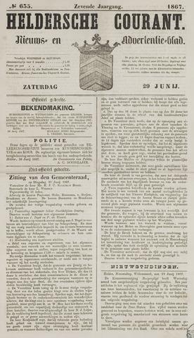 Heldersche Courant 1867-06-29