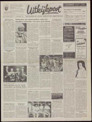 Uitkijkpost : nieuwsblad voor Heiloo e.o. 1991-12-11