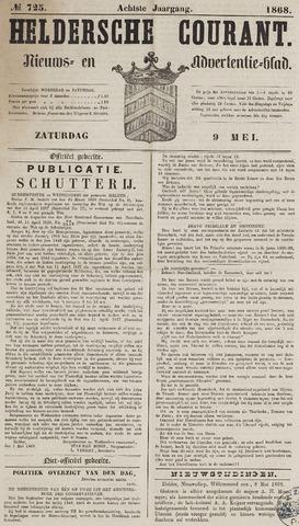 Heldersche Courant 1868-05-09