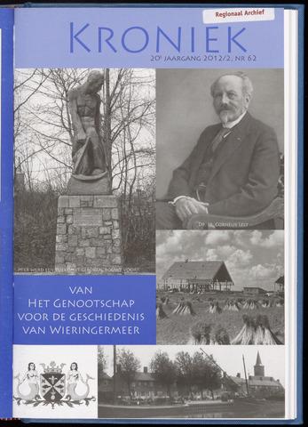 Kroniek Historisch Genootschap Wieringermeer 2012-08-01
