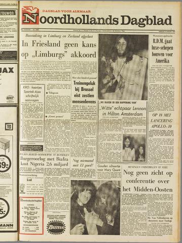 Noordhollands Dagblad : dagblad voor Alkmaar en omgeving 1969-03-25