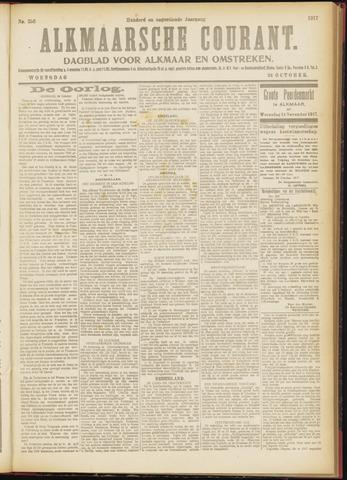 Alkmaarsche Courant 1917-10-24