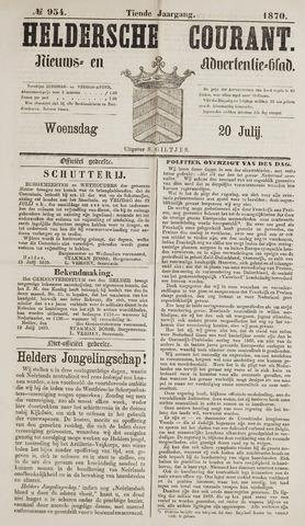 Heldersche Courant 1870-07-20