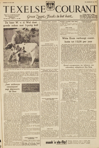 Texelsche Courant 1963-07-16