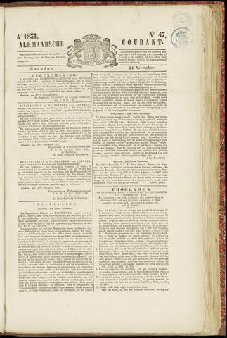 Alkmaarsche Courant 1851-11-24