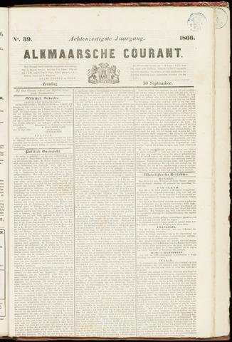 Alkmaarsche Courant 1866-09-30