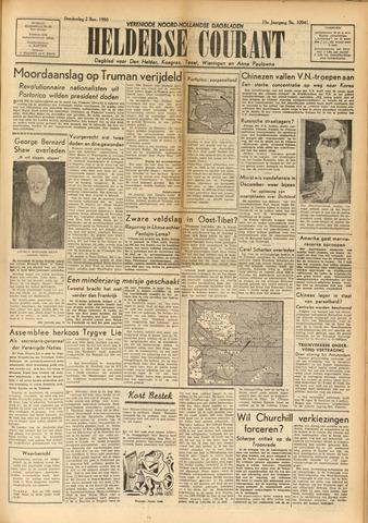 Heldersche Courant 1950-11-02