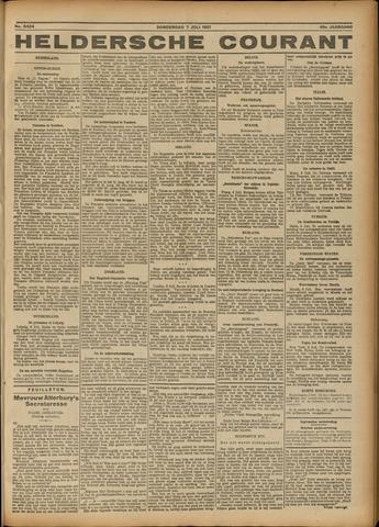 Heldersche Courant 1921-07-07