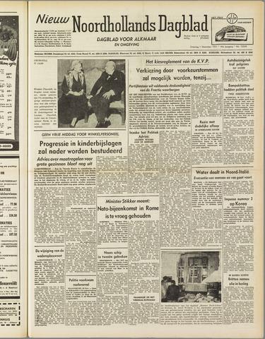 Nieuw Noordhollandsch Dagblad : voor Alkmaar en omgeving 1951-12-01