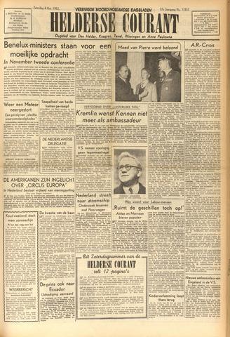 Heldersche Courant 1952-10-04