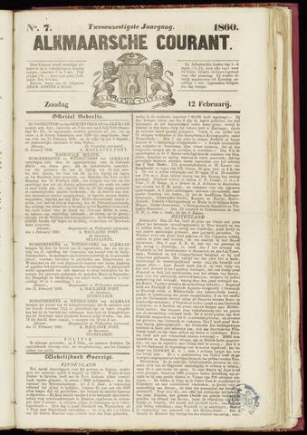 Alkmaarsche Courant 1860-02-12
