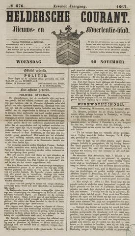 Heldersche Courant 1867-11-20