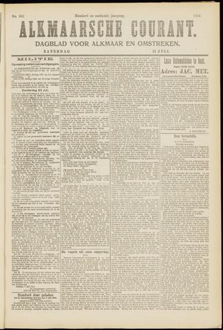 Alkmaarsche Courant 1914-07-11