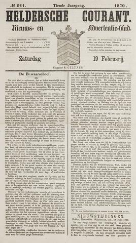 Heldersche Courant 1870-02-19