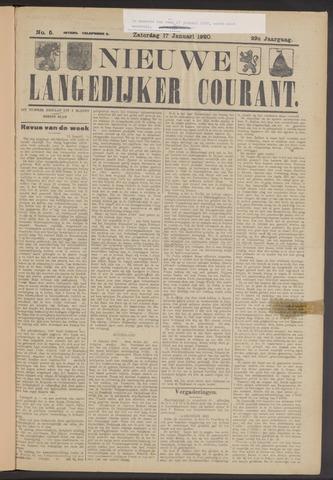 Nieuwe Langedijker Courant 1920