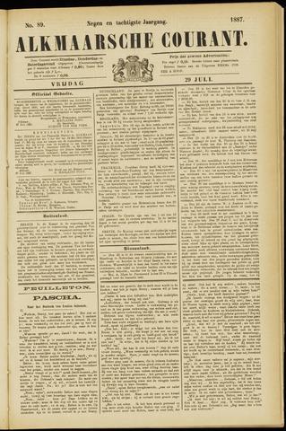 Alkmaarsche Courant 1887-07-29