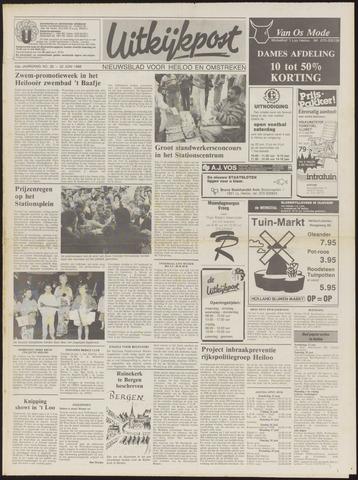 Uitkijkpost : nieuwsblad voor Heiloo e.o. 1988-06-22