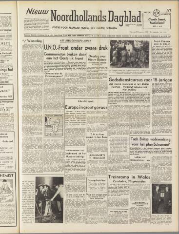 Nieuw Noordhollandsch Dagblad : voor Alkmaar en omgeving 1950-08-28