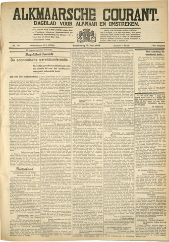Alkmaarsche Courant 1933-06-15