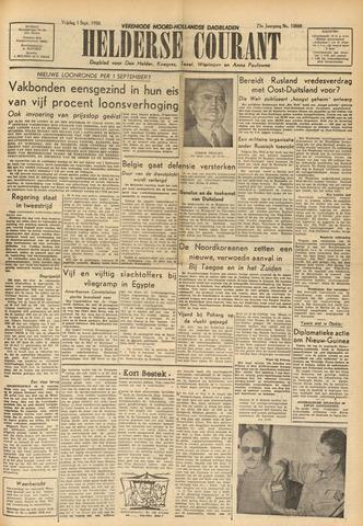 Heldersche Courant 1950-09-01