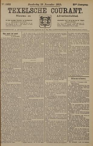 Texelsche Courant 1915-11-18