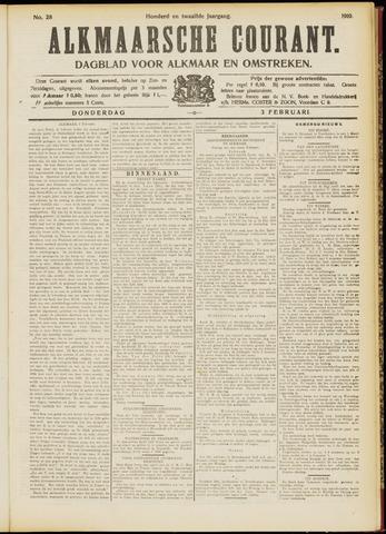 Alkmaarsche Courant 1910-02-03